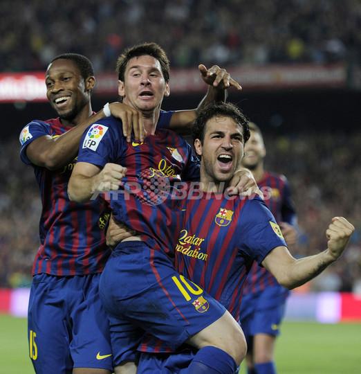 FCバルセロナ メッシの活躍でスーパーカップ制覇