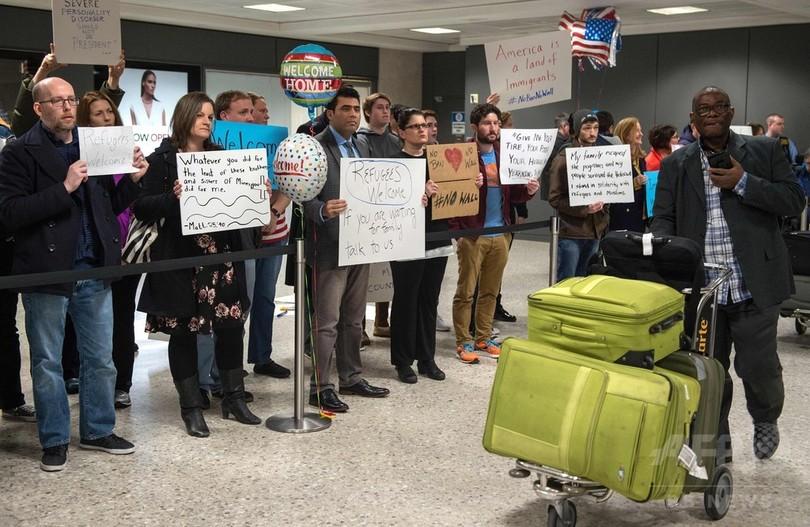 米連邦裁、難民らの入国規制したトランプ大統領令を一部阻止