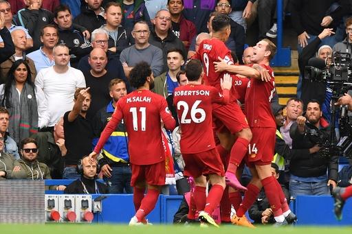 リバプールがチェルシー下し全勝維持、リーグ15連勝はクラブ記録