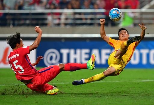 韓国が中国の猛攻しのぐ、豪も白星発進 アジア最終予選