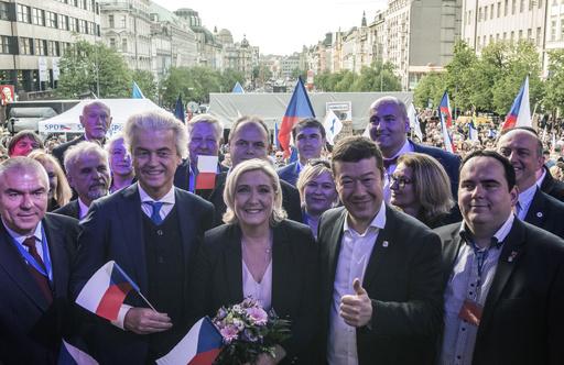 欧州議会選、投票開始 躍進狙う右派ポピュリズム政党