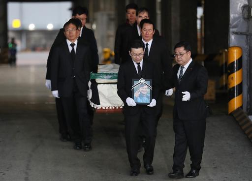 韓国登山隊が無言の帰国、ネパールで遭難 19日に合同葬