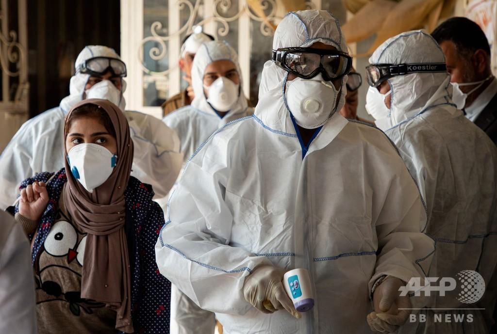 新型ウイルス、中東に広がる警戒感 イランの死者増加で国境封鎖相次ぐ