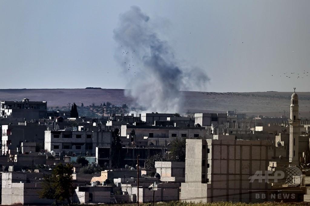 クルド女性戦闘員「イスラム国」に自爆攻撃 シリア北部で攻防続く