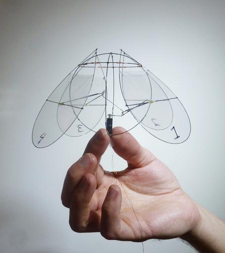 クラゲ型の飛行装置、米研究者が開発