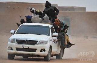 サハラ砂漠で移民44人死亡 車故障で水尽き