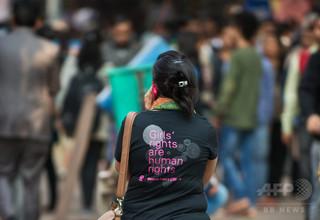 女子学生の図書館利用を禁止、インド一流大学に非難