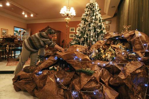 イスラム教が主流のヨルダンにもクリスマス