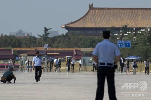 中国、米国務長官の「たわ言」を非難 天安門事件30年