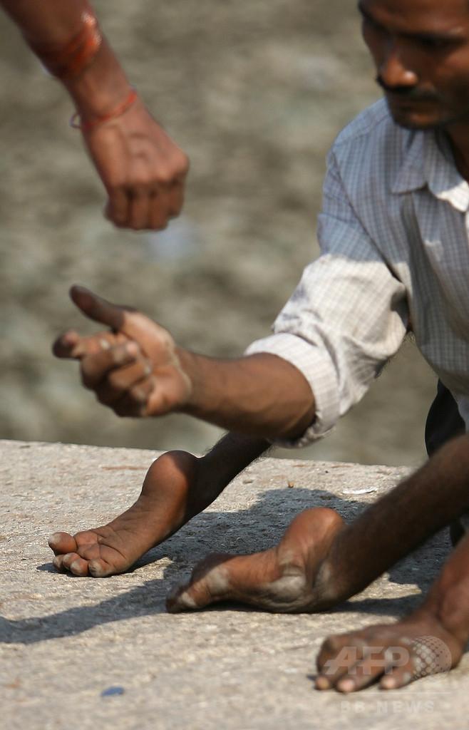 インド南部の都市、国際会議控え物乞いを禁止 イヴァンカ氏も出席 写真 ...