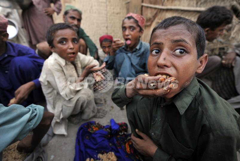 洪水被害のパキスタンでコレラ感染を確認、国連