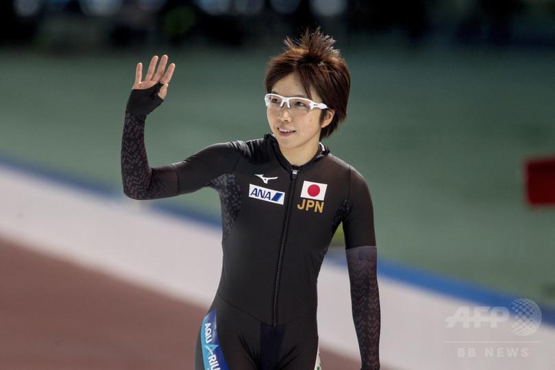 小平が1000m世界新記録、2位に高木 スピードスケートW杯