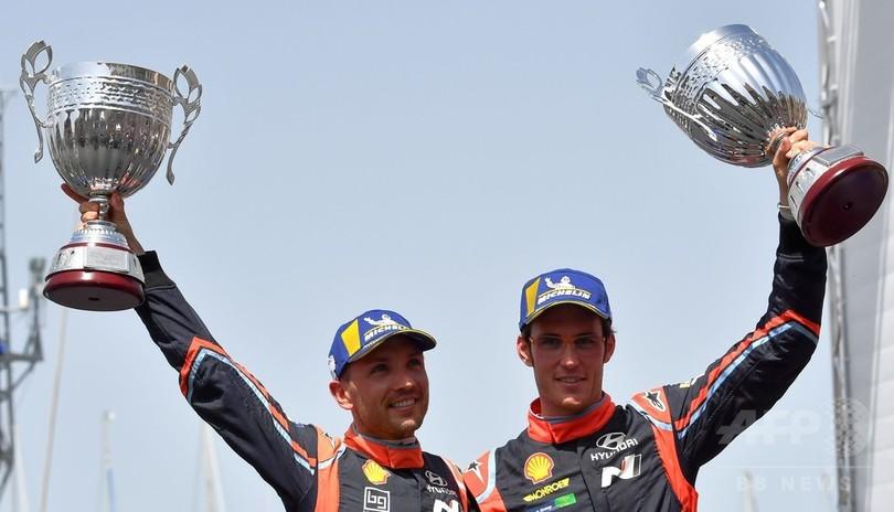 ヌービルがオジェに競り勝ちラリー・イタリア優勝