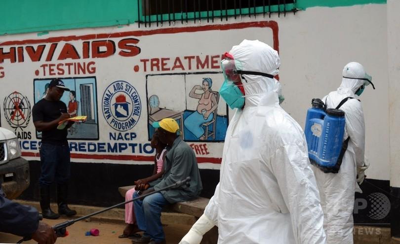 欧米諸国、エボラ禍の西アフリカ諸国に軍を派遣へ