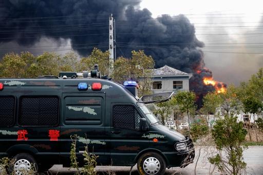 中国・江蘇省の化学工場で爆発 6人死亡、30人重傷