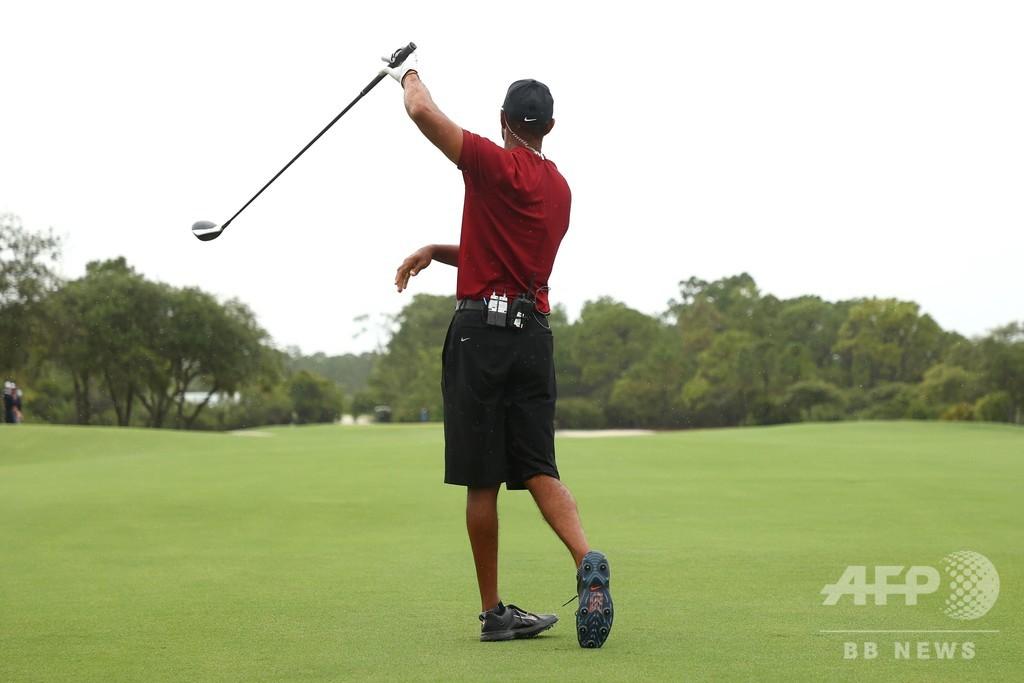 ウッズ/マニング氏組が慈善ゴルフ制す、コロナ対策に21億円集める