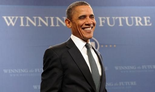 オバマ大統領の白髪染め疑惑、夫人がTVで解決
