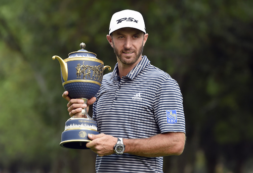 D・ジョンソンが世界1位返り咲き、ゴルフ最新世界ランキング