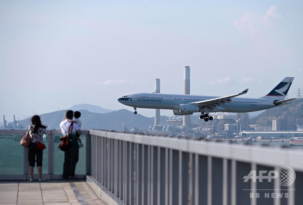 「違法デモ」支持すれば解雇も、香港キャセイ航空 従業員に警告