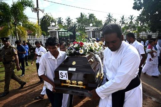 スリランカ連続爆発、死者310人に 40人を拘束