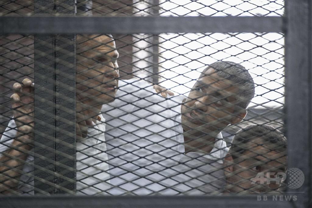 エジプト、2人目のアルジャジーラ記者釈放へ カナダ外相発表