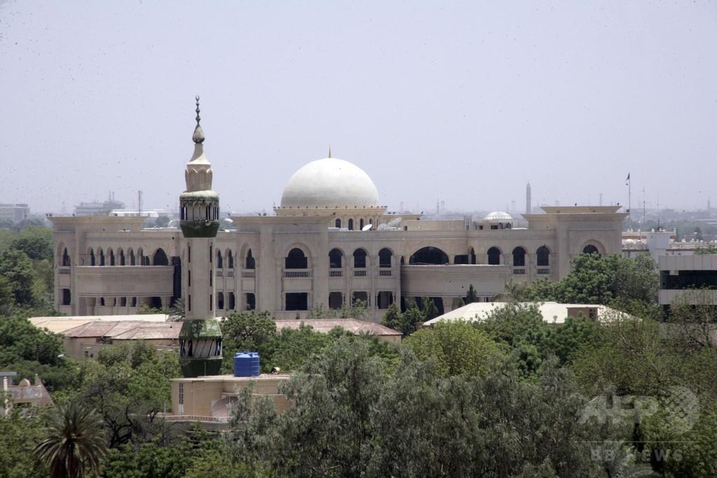 中国資本の新大統領府が完成、スーダン