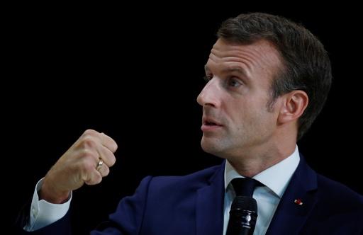 IS復活阻止は「必須」、仏大統領がトランプ氏に言明