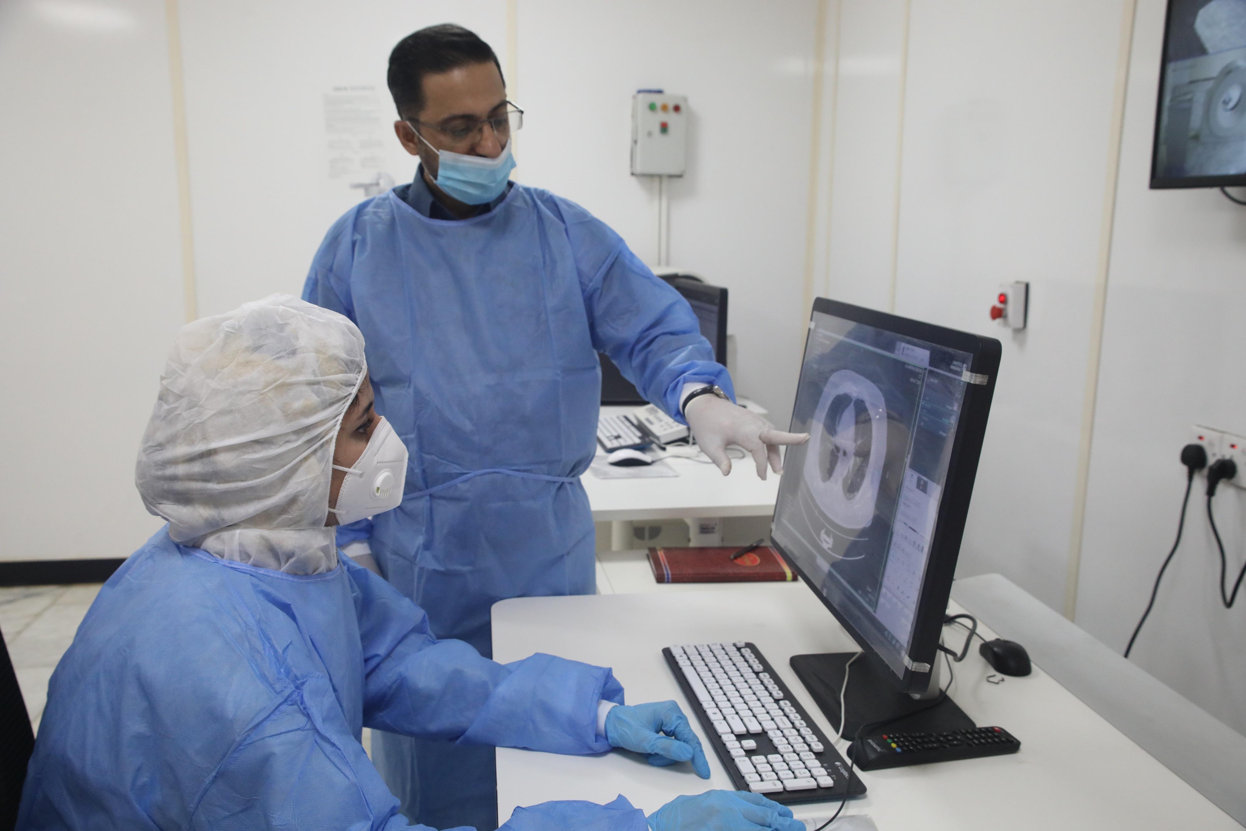中国の医療機器、イラクで新型コロナ治療に貢献