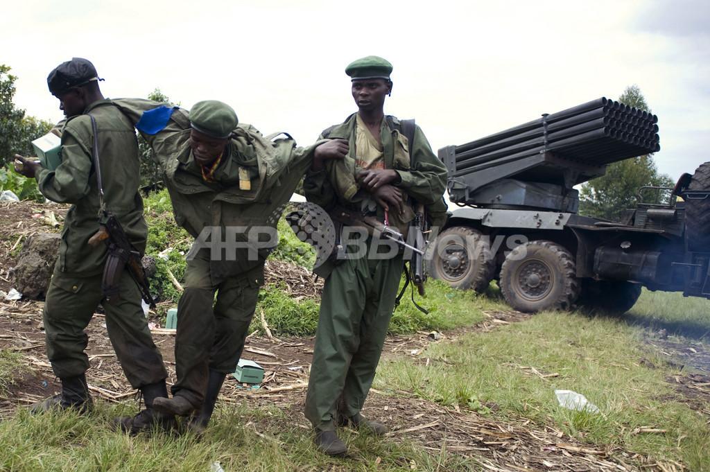 反政府勢力が州都に接近、コンゴ民主共和国