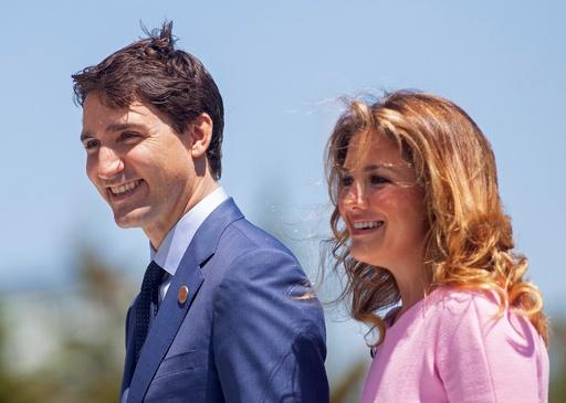 カナダ首相夫人、新型ウイルス感染症から回復 本人発表