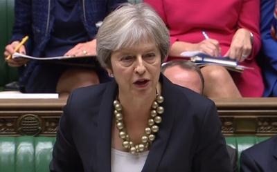英離脱交渉「95%は決着」 メイ首相、こう着打開へ議会で支持訴え