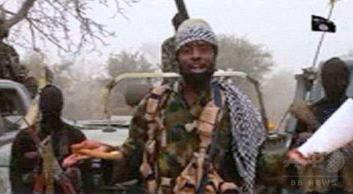 ボコ・ハラム指導者が動画、ナイジェリア大統領の「敗走」主張を否定