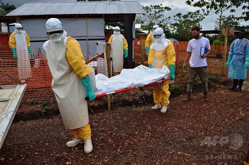 エボラ流行規模は「過小評価」、WHOが見解