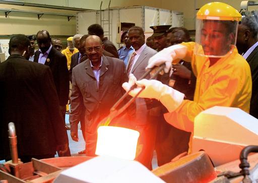金精錬所が操業開始、スーダン・ハルツーム