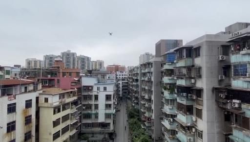 動画:マスクを着けて! 「天からのおしかり」が響く中国・広州