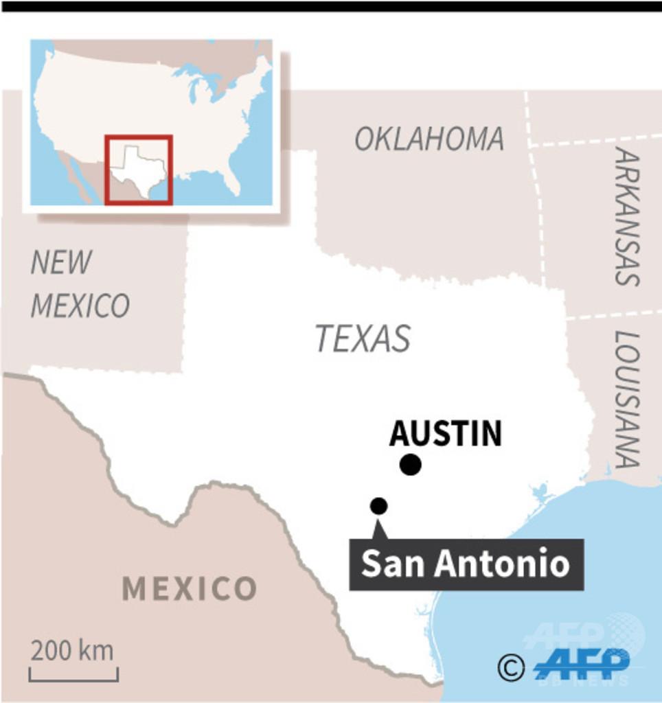 トレーラー内に詰め込まれた9人死亡 米テキサス州、人身売買か