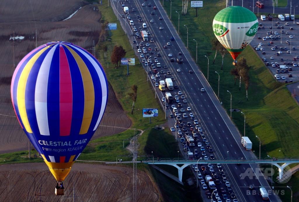 国際熱気球フェスティバル、ベラルーシ首都で開催