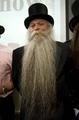 世界の「ひげ自慢」が大集合、栄冠は「ヘラジカ」のひげ ノルウェー