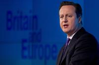 英首相、EU残留を問う国民投票を約束 17年末までに