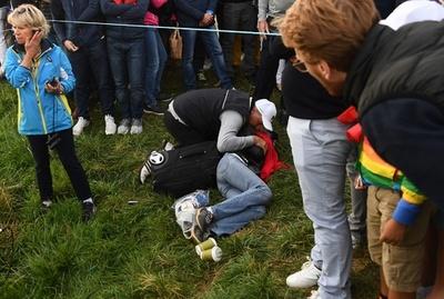 ライダーカップの観客失明事故、打ったケプカ「胸が痛い」