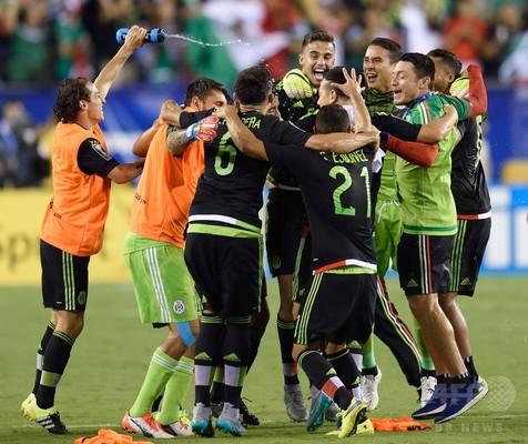 国際ニュース:AFPBB Newsメキシコ、ジャマイカ下し7度目のゴールドカップ制覇