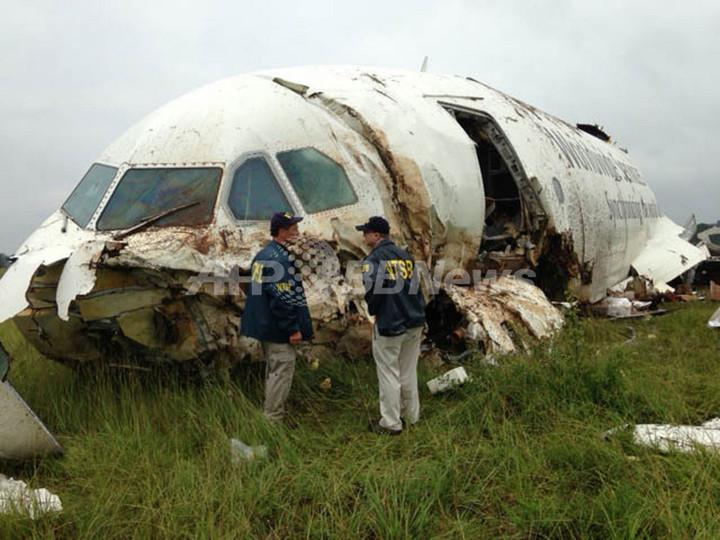 米アラバマで貨物機が墜落炎上、操縦士ら2人死亡