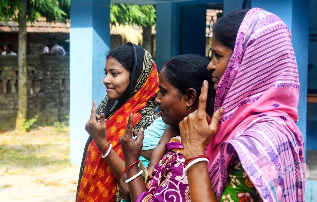 インド総選挙、投票終了 4月11日から約6週間 与党側が過半数確保か