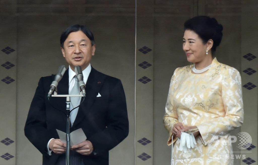 令和初の新年一般参賀、天皇陛下「災害のない安らかで良い年に」