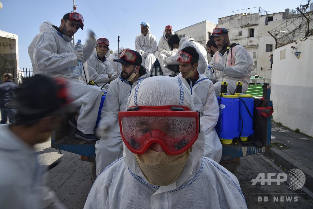 アルジェリア、医師らの保護法制定へ コロナ禍で暴力増加