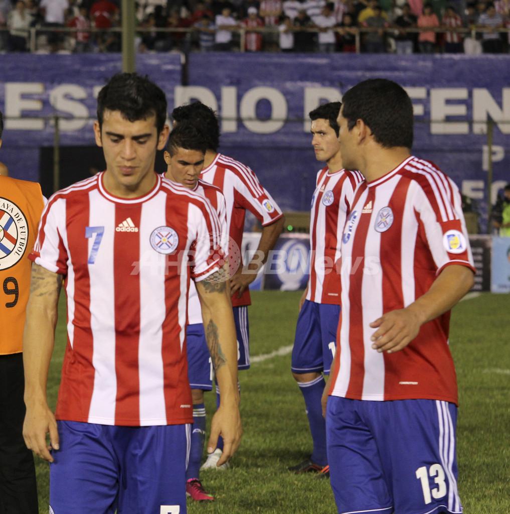 アルゼンチンのW杯本大会出場決定、メッシの2点などで大勝