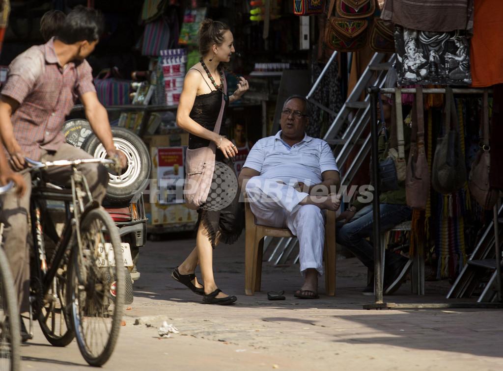 性的暴行事件相次ぐインド、女性観光客が激減