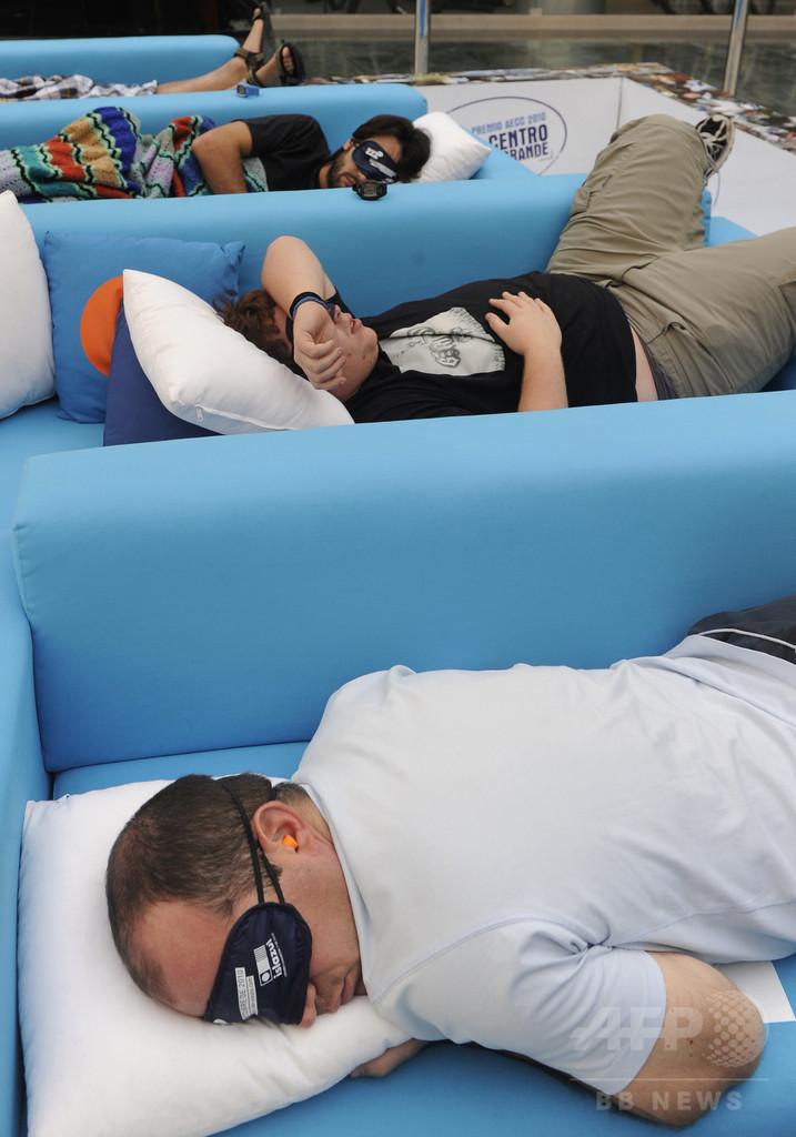 退屈な映像で眠りへ、スペインの動画サイト「Napflix」