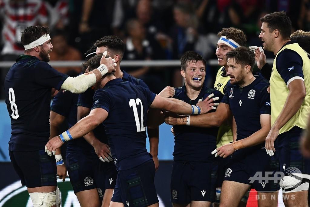 スコットランド大勝、8強懸け日本と決戦へ「研究してきた」 ラグビーW杯