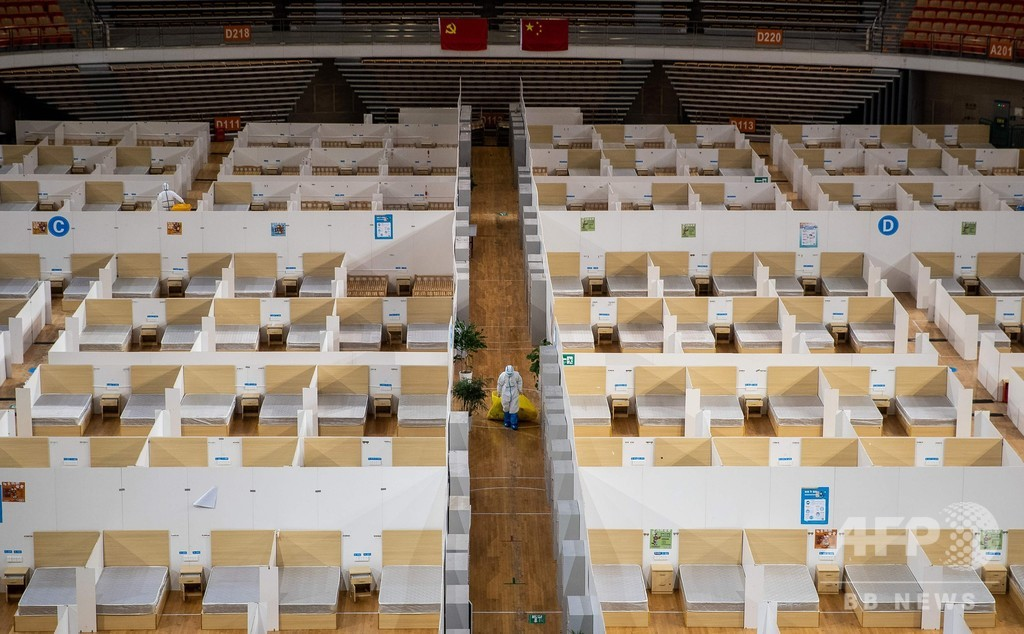 新型ウイルス新規感染者減少、大半の仮設病院閉鎖 中国